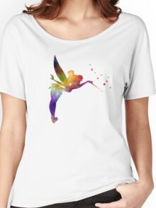 Tinkerbell in watercolor Women's Relaxed Fit T-Shirt