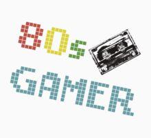 80s Gamer Cassette Kids Clothes