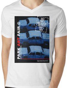 PAFI© 2012 design by Stephen Brook Mens V-Neck T-Shirt