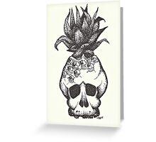 Pina Skullada Greeting Card