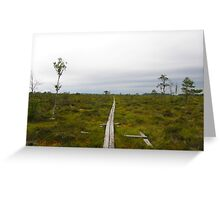 Store Mosse National Park Greeting Card