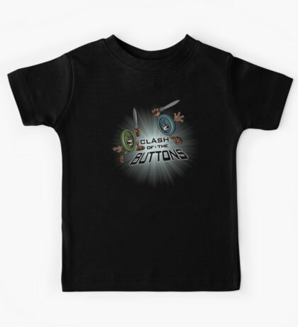 Clash of the BUTTONS Kids Tee