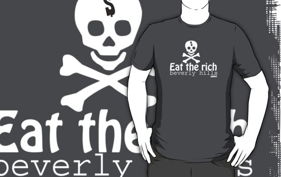 Eat the reach - Beverly Hills by WAMTEES