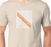 Bacon - Minimalist Bacon Unisex T-Shirt