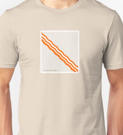 Bacon - Minimalist Bacon Unisex T-Shirt