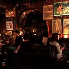 Gordan's Wine Bar, London - Taking in the Evening  by rsangsterkelly