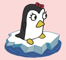Girly Penguin Kids Tee