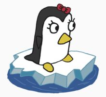 Girly Penguin Kids Clothes