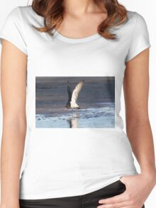 Wing Testing Women's Fitted Scoop T-Shirt