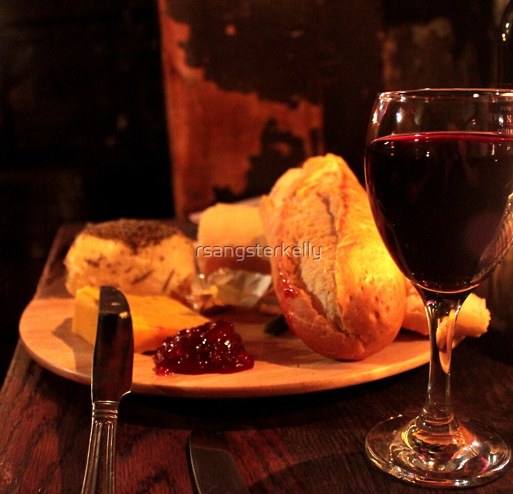 Gordan's Wine Bar, London - Wine & Cheese by rsangsterkelly