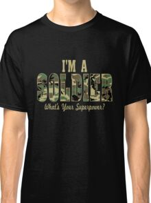 Soldier Superpower Camo Classic T-Shirt