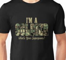 Soldier Superpower Camo Unisex T-Shirt