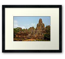 Angkor Thom Wat Framed Print