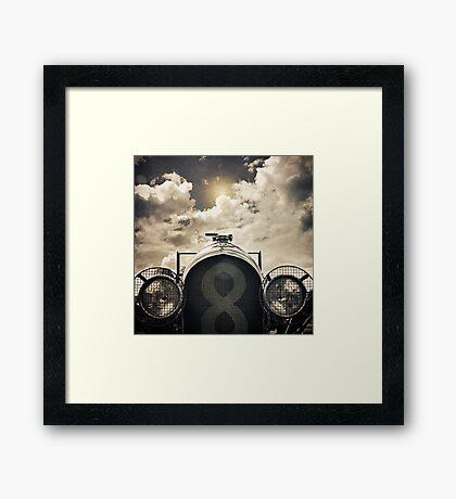 Racing Framed Print
