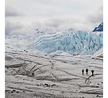 ice walkers Photographic Print
