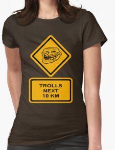 Trolls - kilometers Womens Fitted T-Shirt