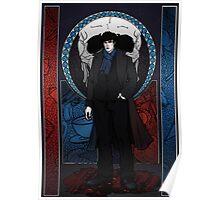 Sherlock Nouveau: Sherlock Holmes Poster