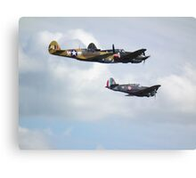 KIttyhawk, Warhawk, Hawk 75 Canvas Print