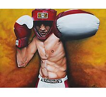 Knockout Photographic Print