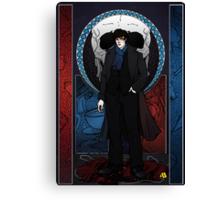 Sherlock Nouveau: Macabre Sherlock Holmes Canvas Print