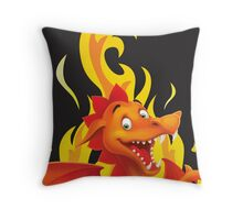 Fire Up Your Imagination Throw Pillow