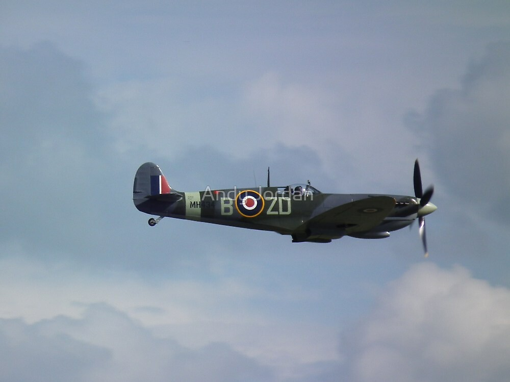 Supermarine Spitfire LF Mk IX(MH434) by Andy Jordan