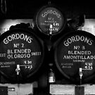 Gordan's Wine Bar, London - Wine Barrels  by rsangsterkelly