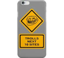 Trolls - sites iPhone Case/Skin