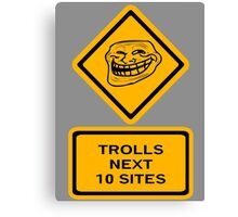 Trolls - sites Canvas Print