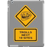 Trolls - sites iPad Case/Skin