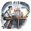 Burning the Midnight Oil by wonder-webb
