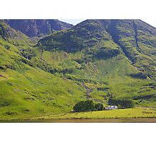 Highland Cottage Photographic Print