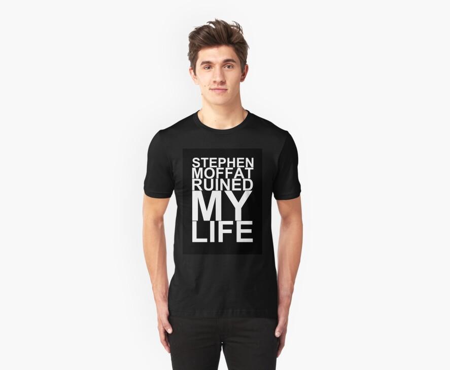 Stephen Moffat Shirt (Black) by staticzeta