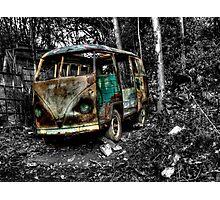 Volkswagen Camper Van, Matlock Bath Photographic Print