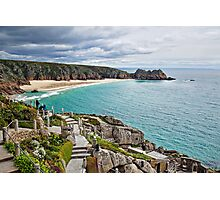 Porthcurno From The Minack ~ Cornwall Photographic Print