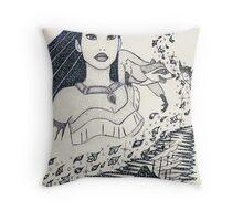Iconic Pocahontas Throw Pillow
