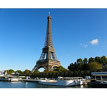 Eifel from the bateau mouche Photographic Print