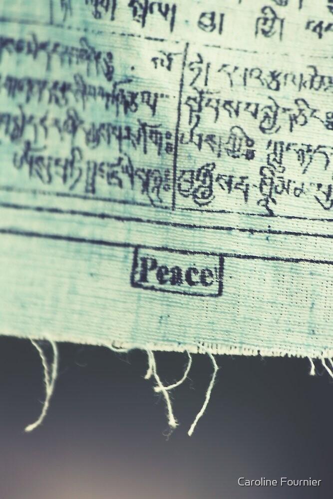 Peace by Caroline Fournier