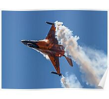 Dutch F-16 Solo Demonstration Poster