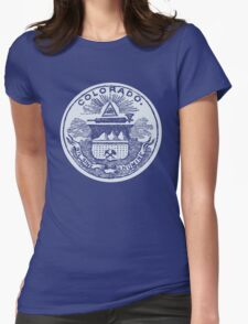 Colorado (Dark Tees) Womens Fitted T-Shirt