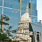 Capitol Reflection by Martha Sherman