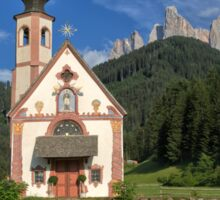 The Church of St. Johann (San Giovanni) in Ranui Sticker