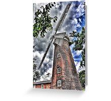 Woodbridge Windmill Greeting Card