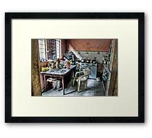 Cocina Kitchen Framed Print