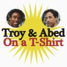 Troy and Abed on a T-Shirt by Joe Balfour