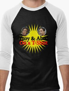 Troy and Abed on a T-Shirt Men's Baseball ¾ T-Shirt