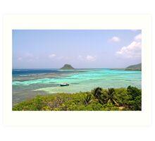 Caribbean Colors Art Print