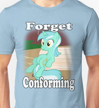 Lyra Doesn't Conform Unisex T-Shirt