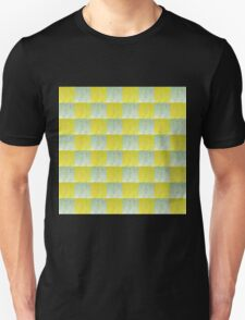 SPARKLING GOLD AND SILVER CHECKED DESIGN T-Shirt