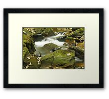 Water Flow at Torc  Framed Print